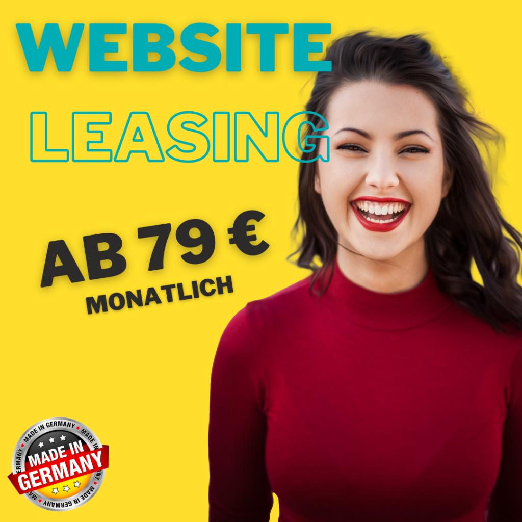 Website Leasing schon ab 79 € _ mtl.